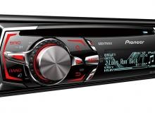 PIONEER DEHX-8550BT CD/AM-FM/WMA/MP3/WAV/USB/AUX/BLUETOOTH